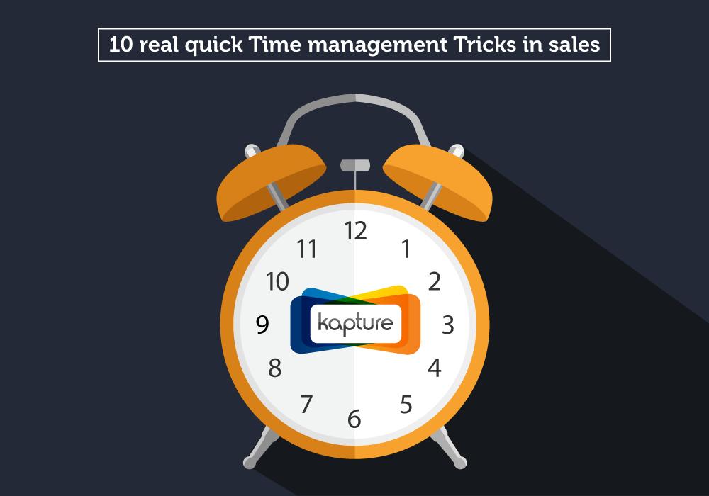 Sales time management tricks