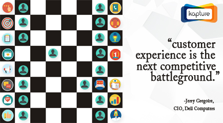 Customer experience the next battle ground- Get Kapture CRM