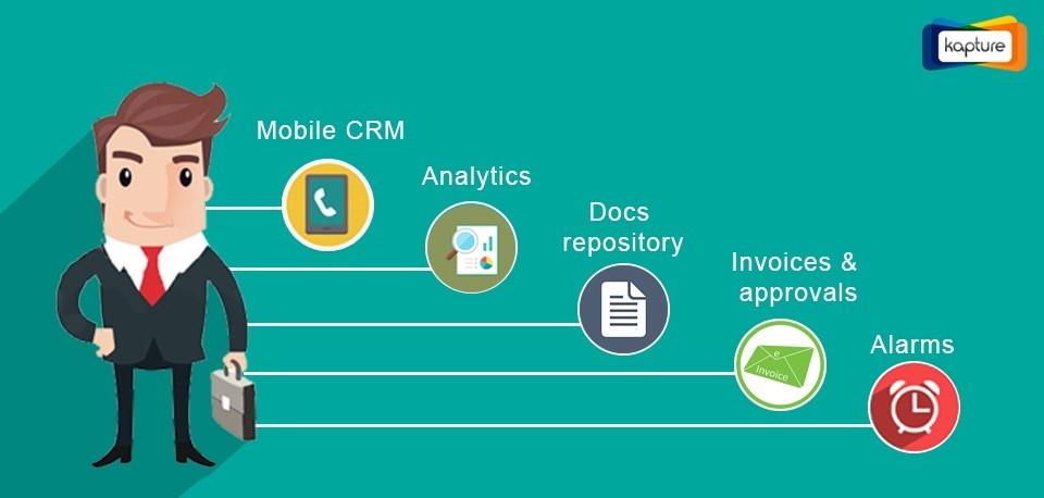 Kapture CRM-oriented sales team