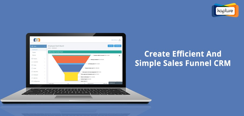 Sales Funnel Kapture CRM