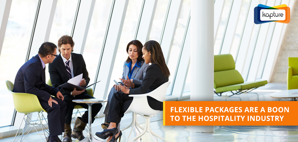 Flexible packages could be a central attraction for the hospitality industry