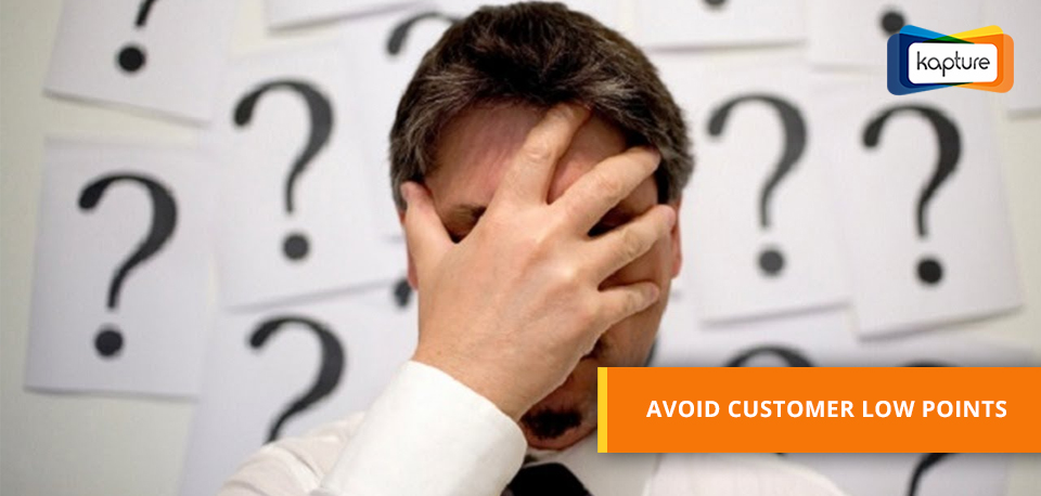 Avoid customer Low points