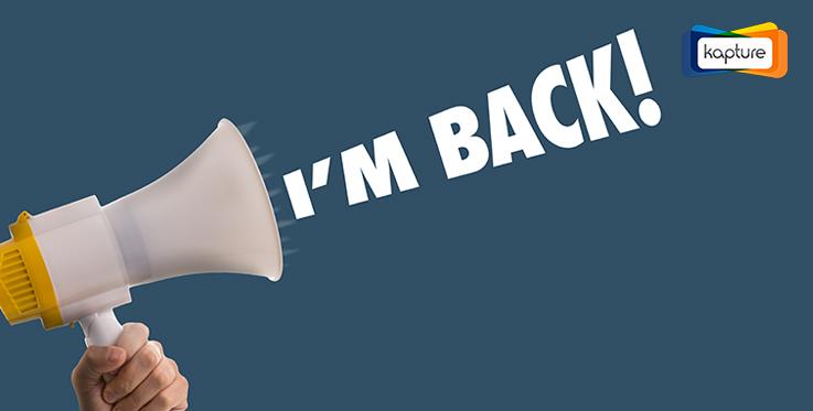 """I""""m Back"""