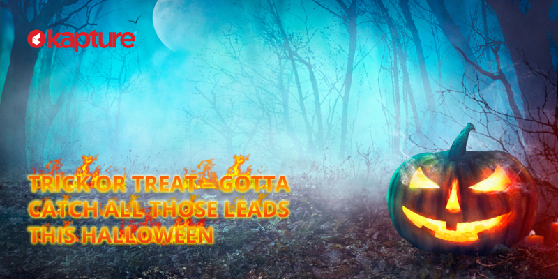 CRM Monster in Halloween