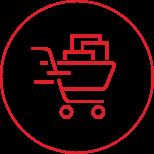 E-Commerce Cart Icon 2