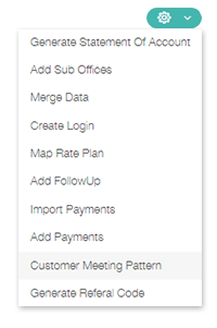 Set Meeting Patterns