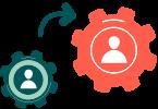 Custom Escalation Matrix Icon